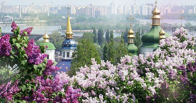Киев на майские