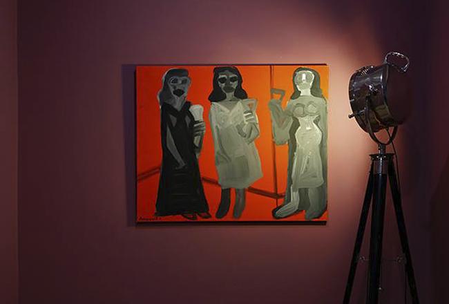 Выставка в пять этажей