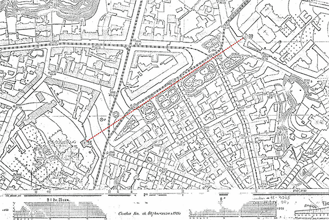 фрагмент плана 1925