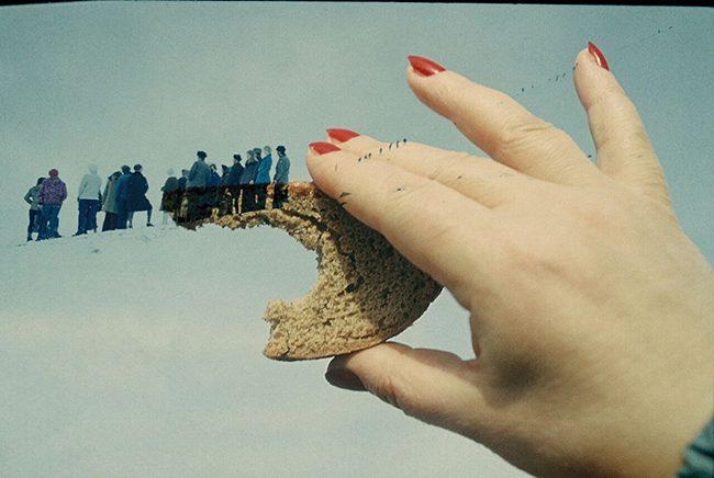 Борис Михайлов. Хліб ( із серії «Вчорашній бутерброд»). 1960-1970