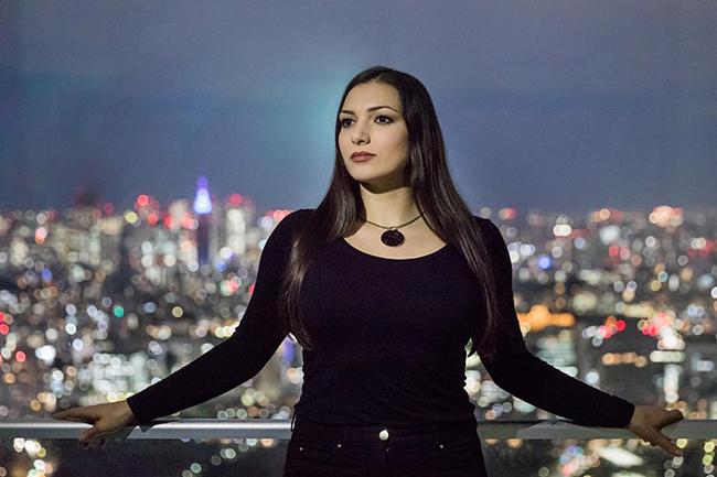 Оперная певица Лена Белкина