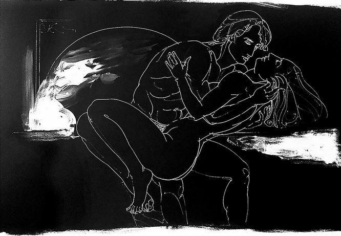 Чорно-біла еротика Антона Ковача