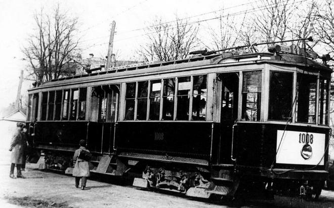 Истории трамвая