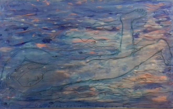 Синє море, рожева земля