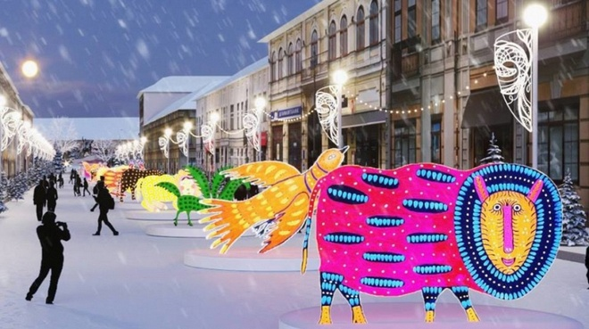 Зимний городок: от Рождества до Масленницы