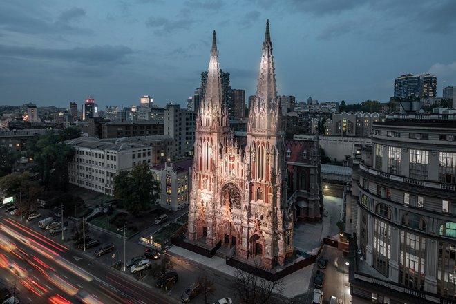 Місце в місті: костел святого Миколая
