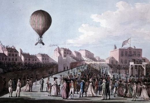 Від Парижа до Києва на повітряній кулі