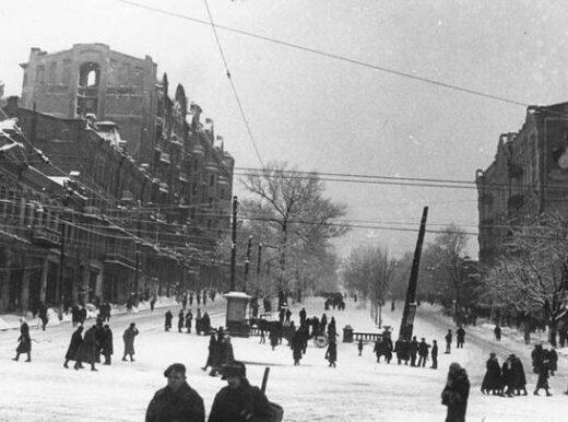 Ретро-новина: сніжний двобій 1942 року