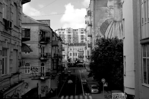 Мовчазний фотограф у Києві, що зникає